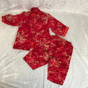 Party Tang Suit Kids Chinese New Year Clothes